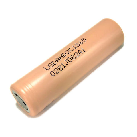 LG HD2C 18650 Li-ion Battery - 2100mAh 20A Flat Top