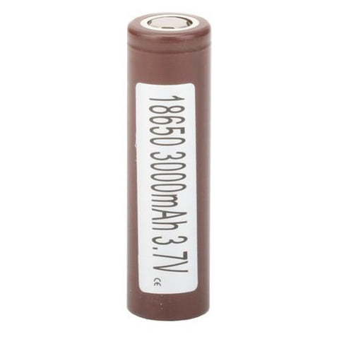 LG HG2 18650 3000mAh 35A Li-ion Battery - Brown Flat Top