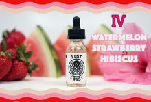 Load image into Gallery viewer, IV by Lost Coast - Watermelon Strawberry Hibiscus E-Juice (60ml)