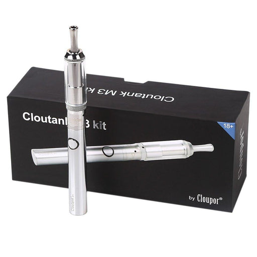 Cloutank M3 2-in-1 Wax and Dry Herb Vaporizer Pen by Cloupor