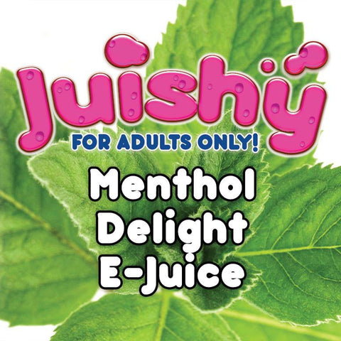 Menthol Delight E-Liquid by Juishy E-Juice