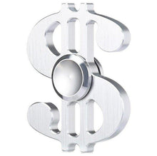 Load image into Gallery viewer, Dollar Sign Money Fidget Spinner (5 colors available)