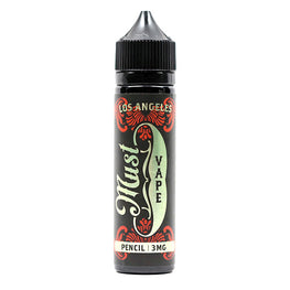 Pencil by Must Vape E-Juice - Cinnamon Pear Crumble Ice Cream E-Liquid (60ml)