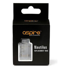 Load image into Gallery viewer, Aspire Nautilus or Nautilus Mini Replacement Glass Tank Tube (2ml & 5ml)
