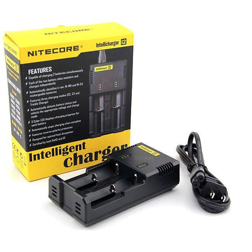 Nitecore i2 Universal Battery Charger 2-Bay Intellicharger