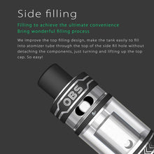 Load image into Gallery viewer, OBS ACE Tank Atomizer (ceramic coil, side-filling)