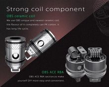 Load image into Gallery viewer, OBS ACE Atomizer Replacement Coils (5 pack)