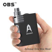 Load image into Gallery viewer, OBS Armour One Box Mod Vape Kit