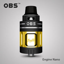 Load image into Gallery viewer, OBS Engine Nano RTA Rebuildable Tank Atomizer (single post)