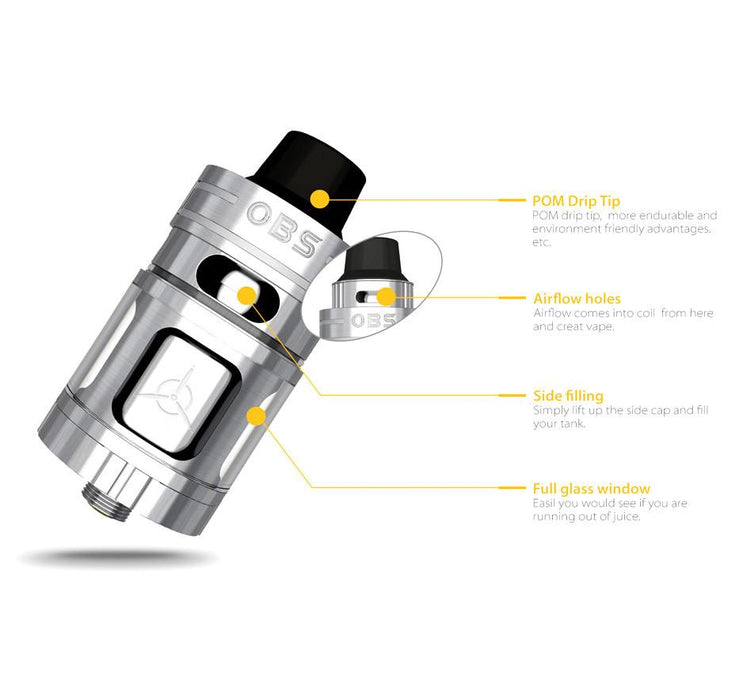 OBS Engine Nano RTA Rebuildable Tank Atomizer (single post)