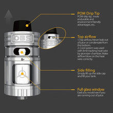 Load image into Gallery viewer, OBS Engine RTA Rebuildable Tank Atomizer (dual post)