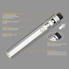 Load image into Gallery viewer, OBS KFB Vape Pen Mod w/ Sub Ohm Atomizer Tank