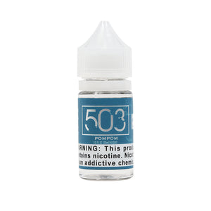 PomPom Salt Nicotine Vape Juice by 503 eLiquid (30ml)