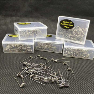 Premade Coils (100 pieces)