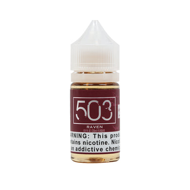 Raven Salt Nicotine Absinthe Vape Juice by 503 eLiquid (30ml)