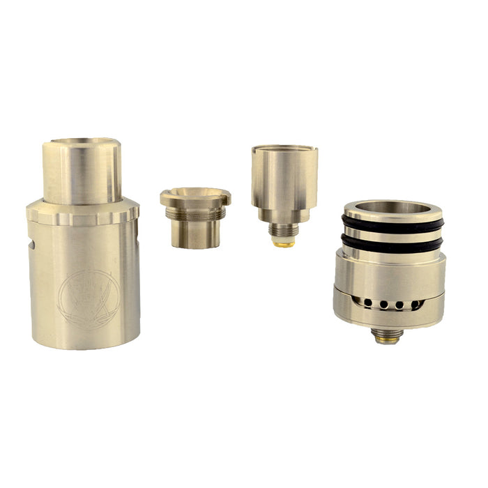 Sai 2 Top Airflow Wax Atomizer / Saionara Titanium Bucket Coil