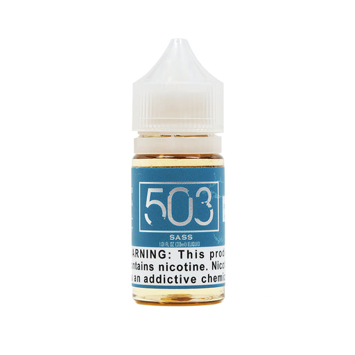 Sass Salt Nicotine Vape Juice by 503 eLiquid (30ml)