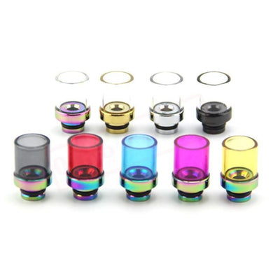 510 Shorties Wide Bore Pyrex 510 Drip Tips