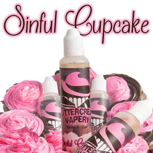 Load image into Gallery viewer, Sinful Cupcake E-Juice by Buttercream Vapery (60ml)