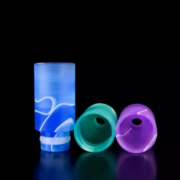 Straight Tube Wide Bore Acrylic Drip Tips
