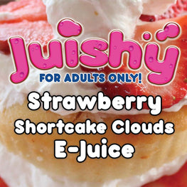 Strawberry Shortcake Clouds E-Liquid by Juishy E-Juice (100ml)