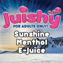 Load image into Gallery viewer, Sunshine Menthol E-Liquid by Juishy E-Juice