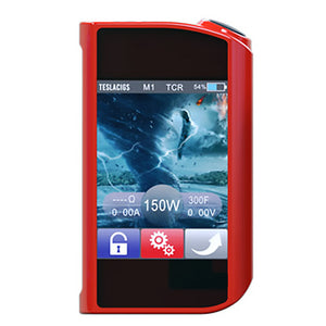 Tesla Touch 150W TC Box Mod w/ Touchscreen