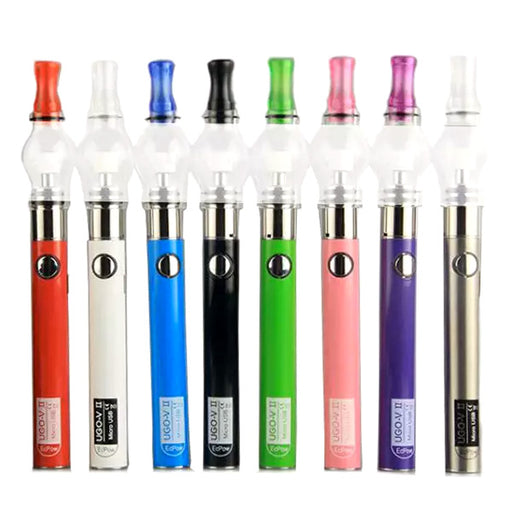 █ 𝗕𝗟𝗔𝗖𝗞 𝗦𝗔𝗟𝗘 █ UGO-V II Glass Globe Wax Pen Vaporizer Kit (650mAh)