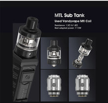 Load image into Gallery viewer, Vandy Vape AP MTL Sub Tank Atomizer (2ml)