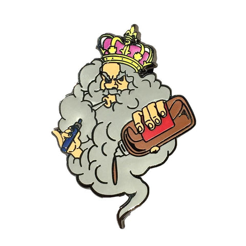 Vape King Hat Pin / Lapel Pin (Limited to 100 Made)