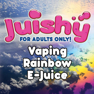 Vaping Rainbow E-Liquid by Juishy E-Juice (100ml)