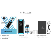 Load image into Gallery viewer, Vaporesso Revenger X Kit 220W Mod + NRG Tank Atomizer (5ml)