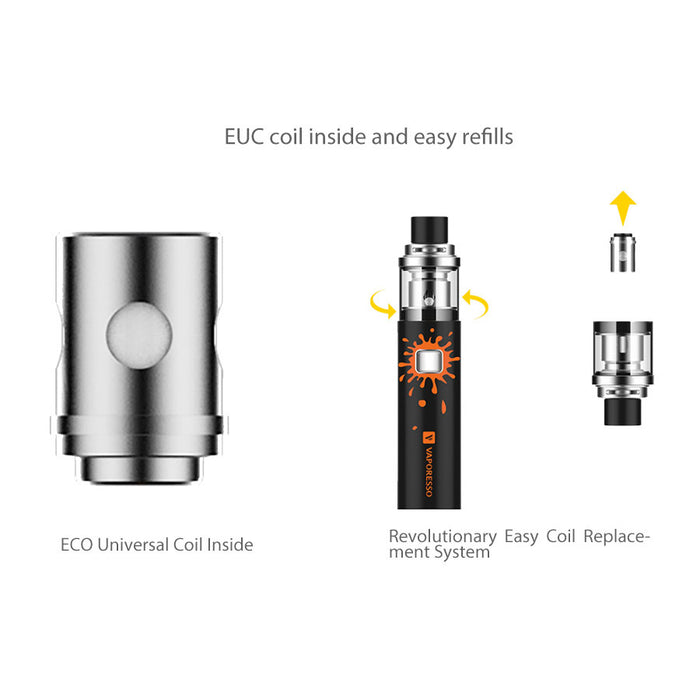 Vaporesso VECO Solo Plus Vape Pen Starter Kit 4ml (3300mah)