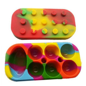 Dab Slab Non-Stick Silicone Wax Containers