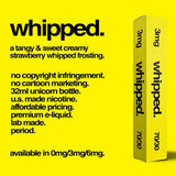 Whipped E-Juice by Yellow Label E-Liquid (Strawberry Whipped Cream)