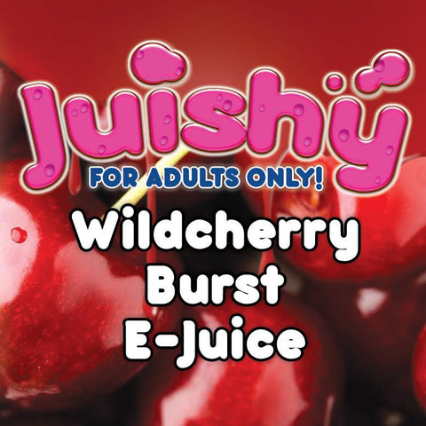 Wildcherry Burst E-Liquid by Juishy E-Juice