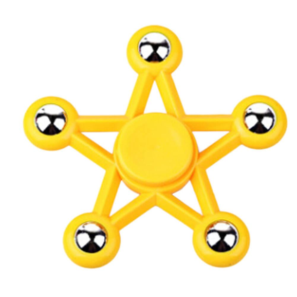 Five Pointed Star Fidget Spinner (7 colors available)