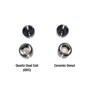 Yocan Evolve Plus Coils, QDC Quartz Dual Coil or Ceramic Donut (5 pack)