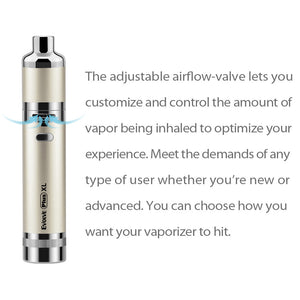 Yocan Evolve Plus XL Kit Wax Vaporizer Pen (Quad Quartz Coil)