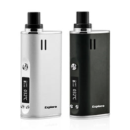 (420 SALE) Yocan Explore Vaporizer Kit 2-in-1 Wax and Herb Vape Mod