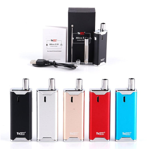 Yocan Hive Vape 2-in-1 Starter Kit for Oil/Wax Concentrates