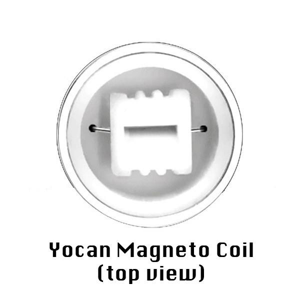 Yocan Magneto Coils w/ Caps - Replacement Ceramic Coil (5 pack)