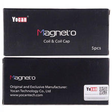 Load image into Gallery viewer, Yocan Magneto Coils w/ Caps - Replacement Ceramic Coil (5 pack)