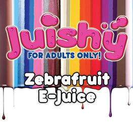Zebrafruit E-Liquid by Juishy E-Juice (100ml)