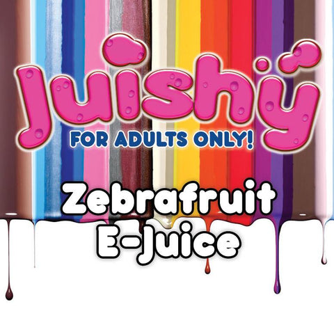 Zebrafruit E-Liquid by Juishy E-Juice