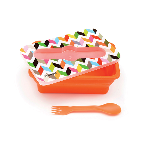 "Pop Up Silicone Lunch Box ""Ziggy""