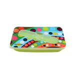 "Pop Up Silicone Lunch Box Bindi|Boîte hermétique ""pop up"" Silicone ""Bindi"""