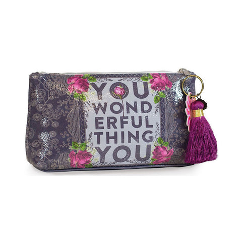 "Small Accessory Bag ""You Wonderful Thing""