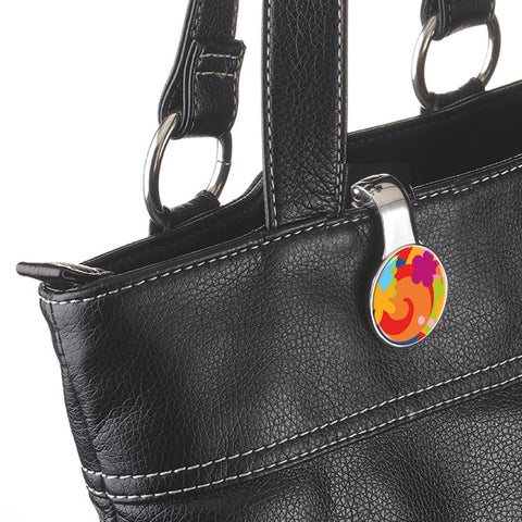 "Handbag Holder and Clip ""Pop Up Your Life""