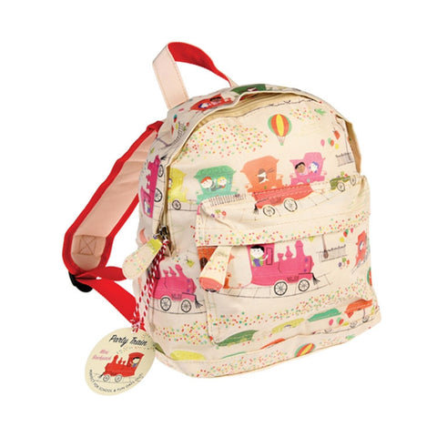 "Party Train Mini Backpack|Mini Sac à  Dos  ""Party Train"""